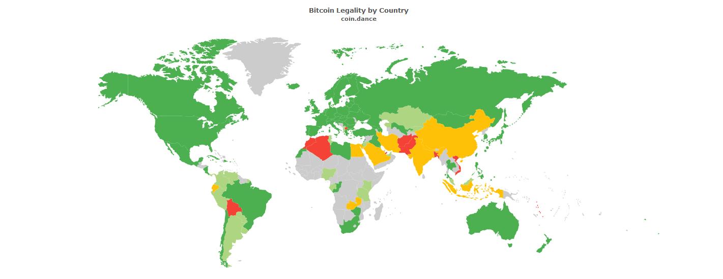 степень принятия криптовалют