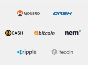 Логотипы криптовалют