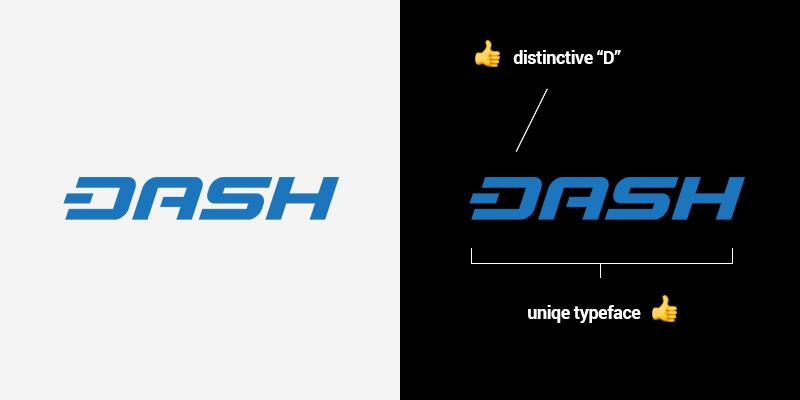 Логотип криптовалют с точки зрения дизайна