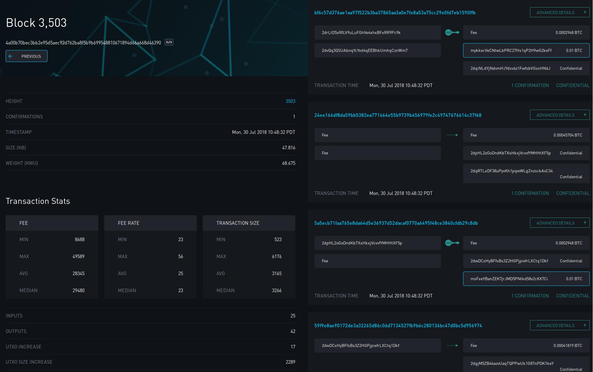 Blockstream анонсировала Liquid Block Explorer — исследователь блоков