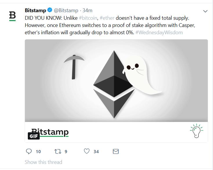 Bitstamp еще раз объясняет суть PoS в Ethereum
