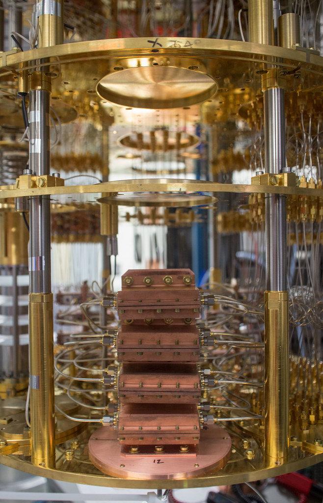 как выглядит квантовый компьютер